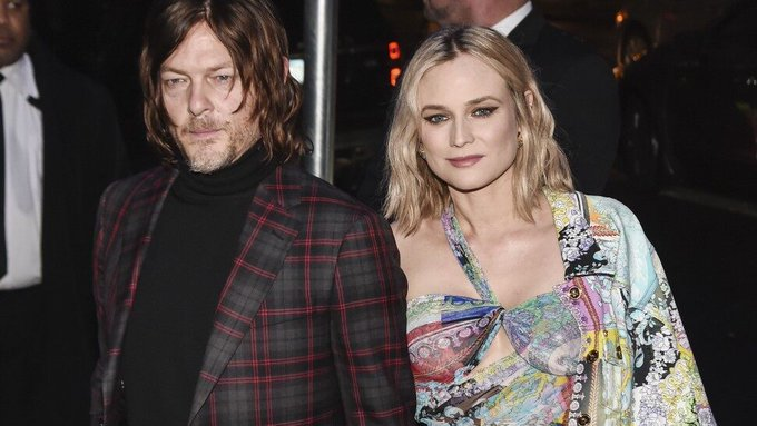 Norman Reedus Wishes Diane Kruger Happy Birthday With Rare Glimpse of Their Daughter