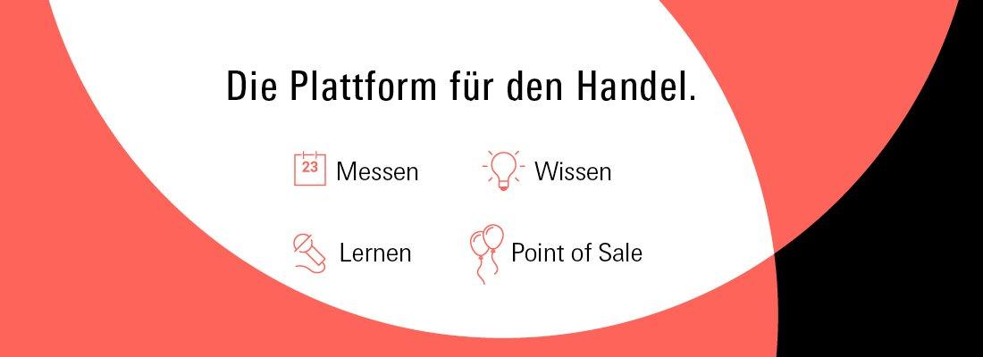 Image for the Tweet beginning: eLearning-Plattform für den #Handel Messe Frankfurt