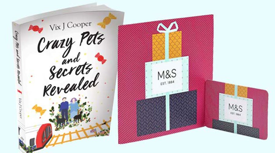 #Win a £100 M&S voucher and a copy of #CrazyPetsAndSecretsRevealed!   Enter our #competition here:  https:// tinyurl.com/yxjounwp     #prizedraw <br>http://pic.twitter.com/gi0bje5LwZ