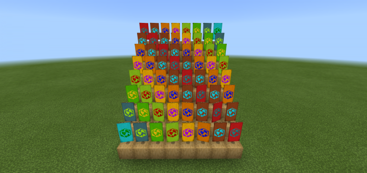 Earth Banner Add-on (1.12+) - https://mcpedl.com/earth-banner-add-on/… - By @real_cr21