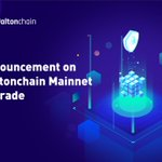 Image for the Tweet beginning: #Waltonchain #Mainnet will be upgraded