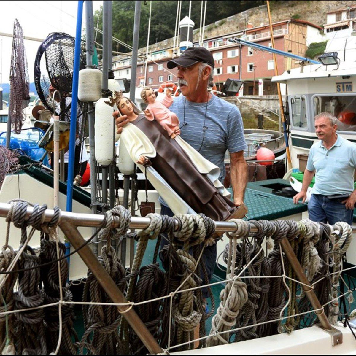 Zorionak a todos los marinos y gente de mar en el día de nuestra Patrona, la Virgen del Carmen #DíaDelCarmen Ondo pasa eta on egin! #Donostia #partevieja #materiaprima #gipuzkoa #sansebastian #basquecountry #Gastronomia