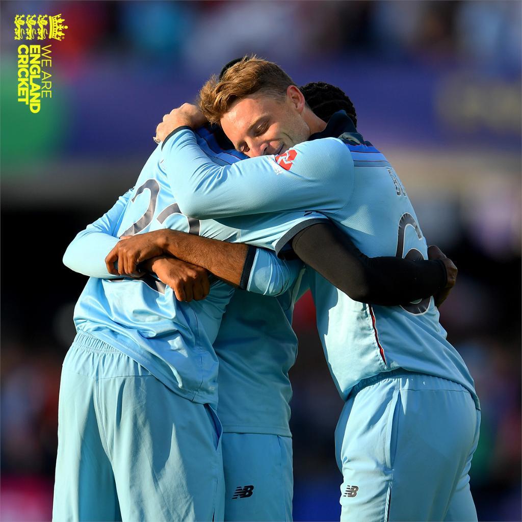 RT @englandcricket: Best match ever? 🏆❤️   #CWC19 #WeAreEngland #ExpressYourself https://t.co/uEs8sDlMv2