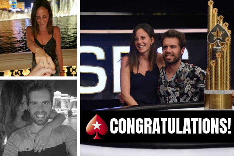 Congratulations to Nesrin and PokerStars Ambassador @Mr__Boxes on their engagement!  https://psta.rs/2lIs1Rl