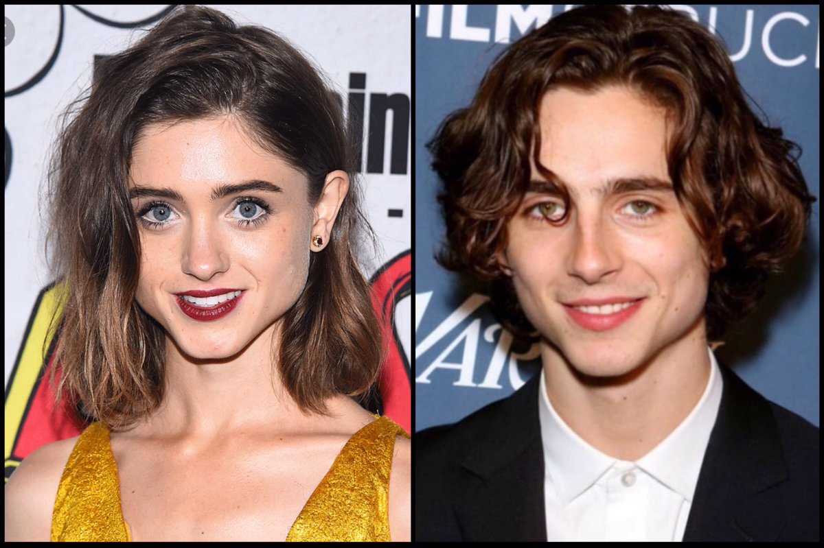People Think Timothée Chalamet and Natalia Dyer Are Twins Separated at Birth, and Now I Can't Unsee It