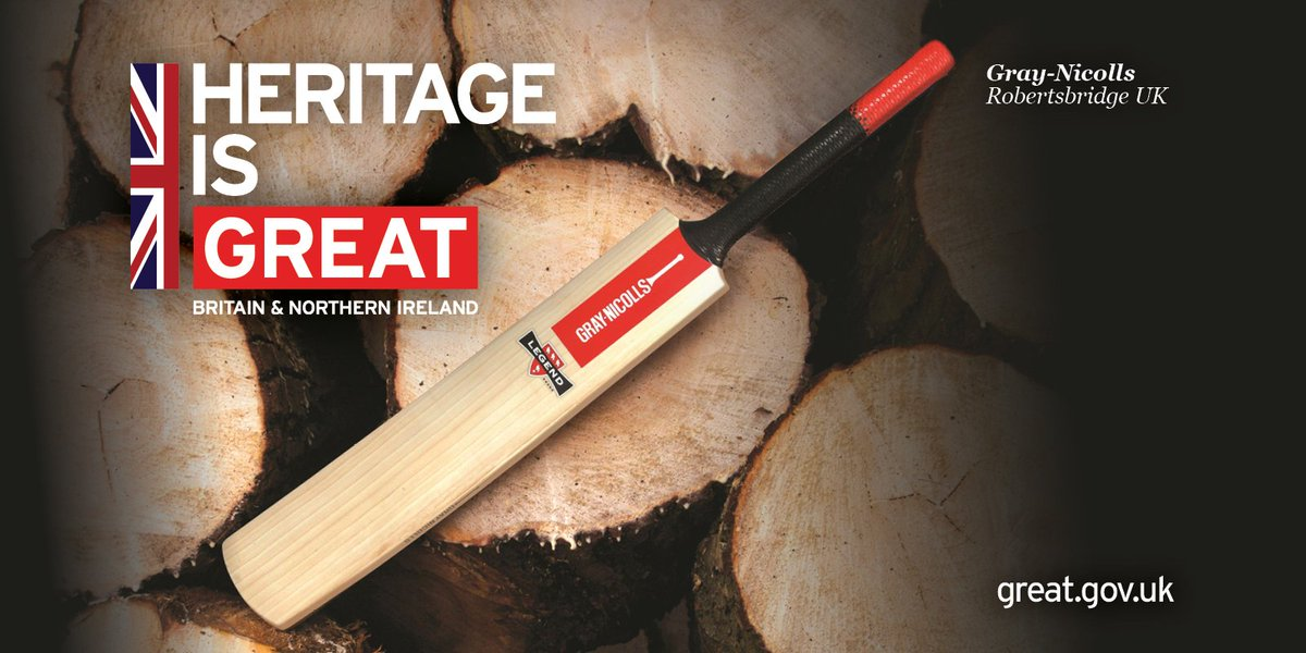 The UK is proud to have hosted the #CricketWorldCup2019 🏏  #CWC19Final #ENGvsNZ #SportIsGREAT #HeritageIsGREAT
