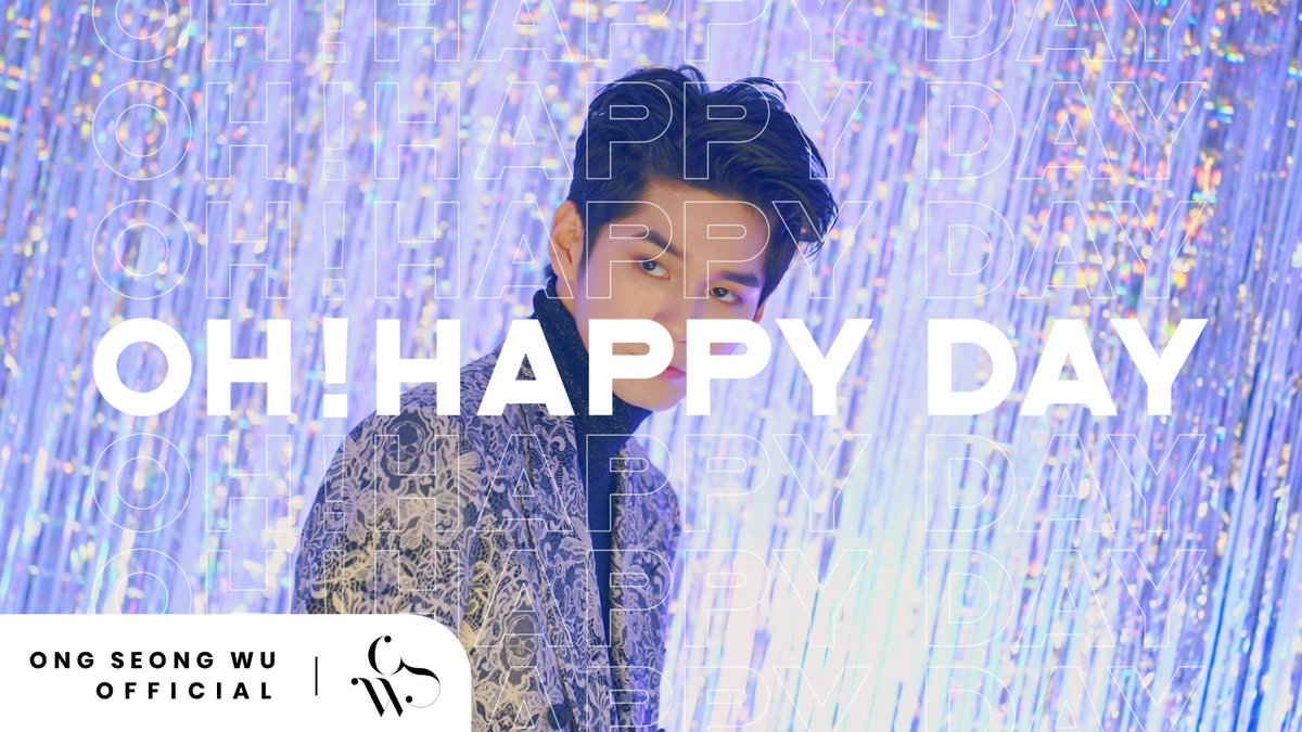 ONG SEONG WU 옹성우 - PHOTO EXHIBITION Oh! Happy Day Teaser #2 ▶ youtu.be/VlCVue5JG0E #옹성우 #ONGSEONGWU #ONGSEONGWU_PHOTOEXHIBITION #Oh_Happy_Day