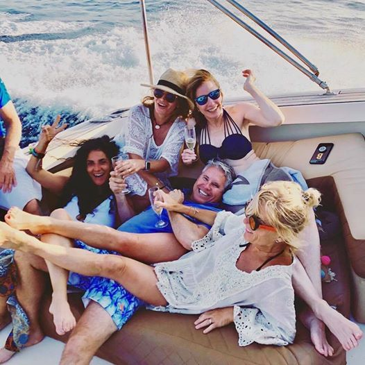"""""""The best day in #Ibiza we have ever had!"""" - Emma, 5-star TripAdvisor review 14/07/19 Awesome foto by Greg Olafson ⚓️☀️😍⚡️⚓️ #Ibiza2019 #boatlife #Ibizavacation"""