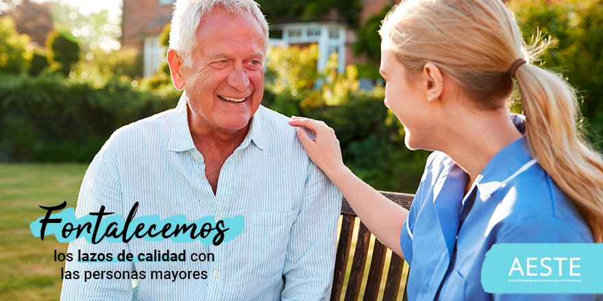 test Twitter Media - 💞Las #gerocultoras conocen la importancia de establecer lazos de buena calidad con las #PersonasMayores a las que cuidan, de comprender que detrás de una enfermedad hay una persona que necesita ayuda, de ofrecer su amor y comprensión cada día.  ¡Gracias por cuidarnos tan bien! https://t.co/D2zYl4r1J0