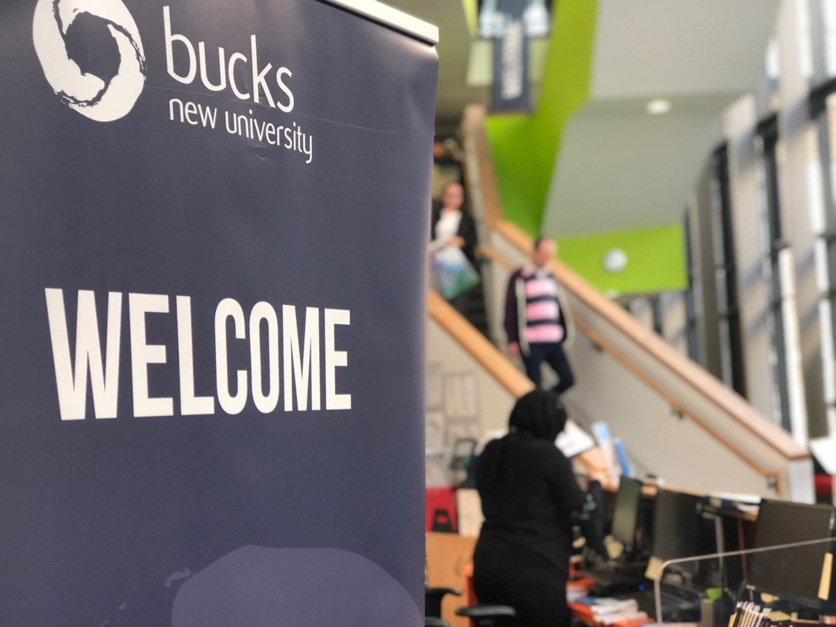 Not been to a #BucksOpenDay? Why not register for one of our #Clearing Welcome Days in August? Youll have the opportunity to visit our campus and know more about our courses. 👨‍🏫🏫 Book your place: bit.ly/bucksclearingw… #TuesdayThoughts