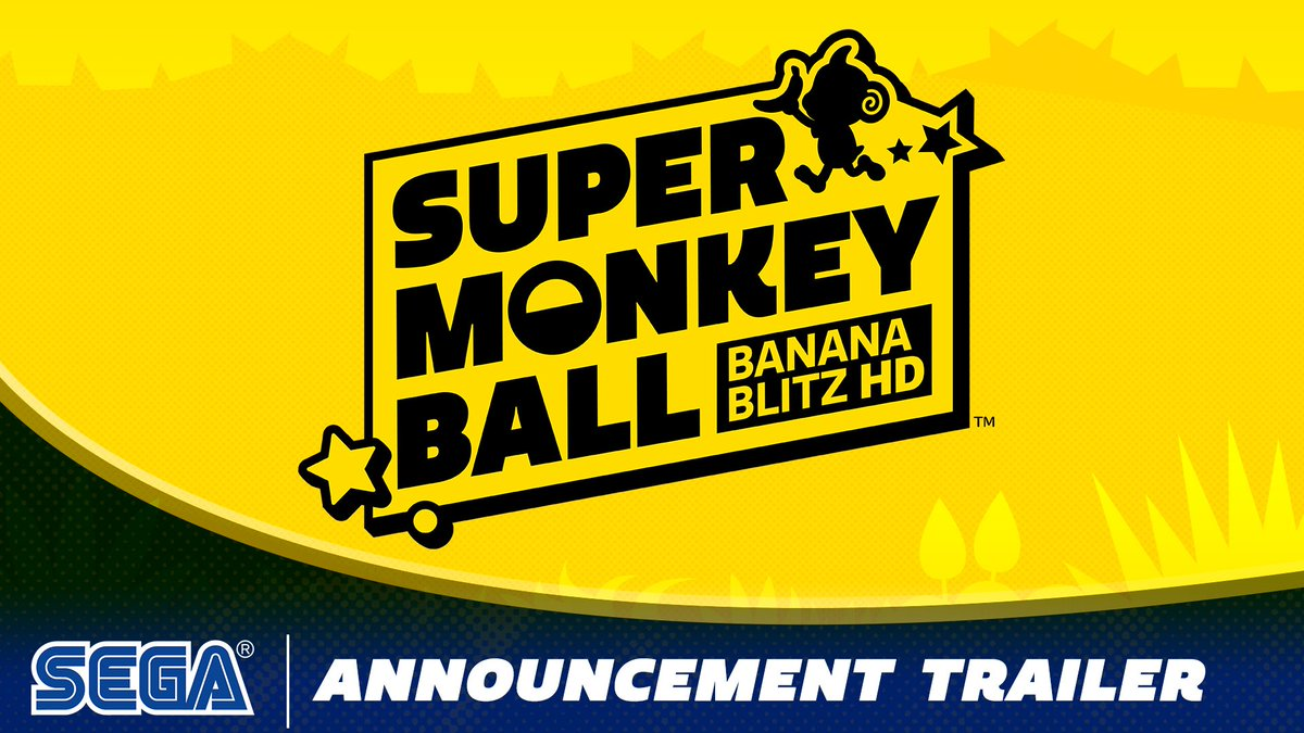We're not monkeying around, Super Monkey Ball: Banana Blitz HD rolls onto the Nintendo Switch, PlayStation 4, and Xbox One on October 29, 2019, with a Steam release planned for Winter 2019!  https://games.sega.com/supermonkeyball
