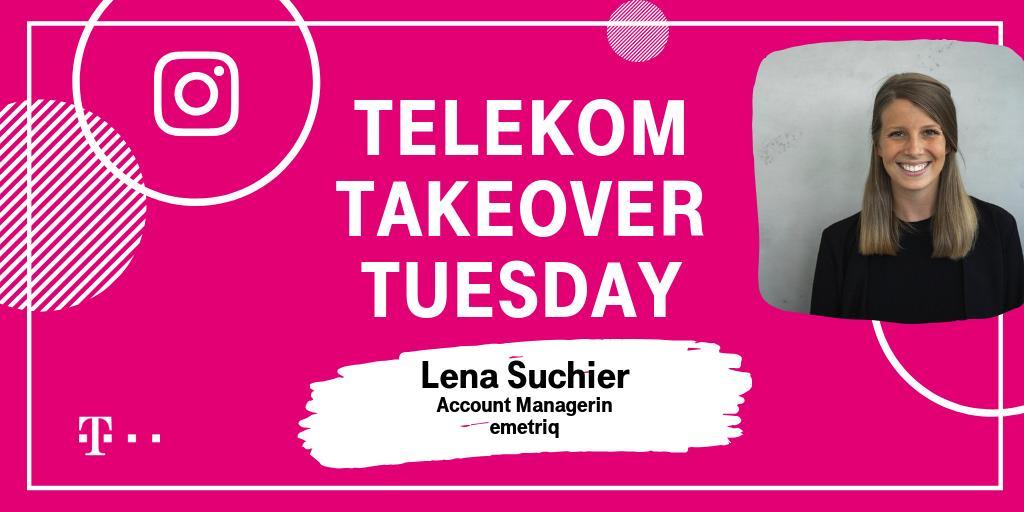 Social Media Post: #Datalover|s aufgepasst 👌 Am heutigen #TakeoverTuesday nimmt euch...