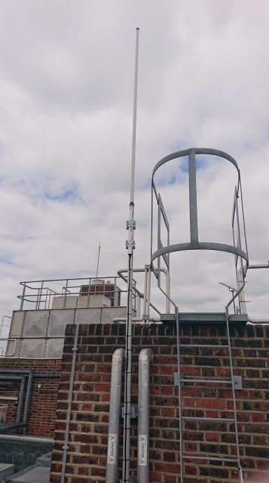 Our #engineers did an #installation at Waltham Forest College yesterday and disconnected the old repeater and antennas #twowayradio