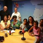 Image for the Tweet beginning: Visitamos los estudios de @RADIO_UMH