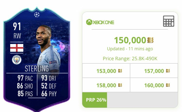 🚨DAILY COIN GIVEAWAY 🚨 Todays giveaway is down to you More RTs 🔁 the better the player 50 = Sterling (30k listing) 100 = Ndombele (35k Listing) 200 = Mendes (50k Listing) 400 = Mbappe (100k Listing) Voting closes 8pm UK Follow for listing announcement. #8MilGiveaway