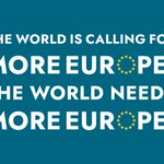 Image for the Tweet beginning: I believe #Europe should have