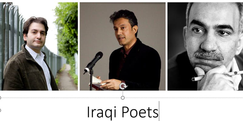 test Twitter Media - We're delighted to invite fans of Arabic poetry to hear three of Iraq's most celebrated expatriate poets to the  London's Poetry Society Cafe theatre for an informal and enlightening evening of readings and conversation. #Poetry  https://t.co/3u1zCvb9GY https://t.co/Qoiuija2kL