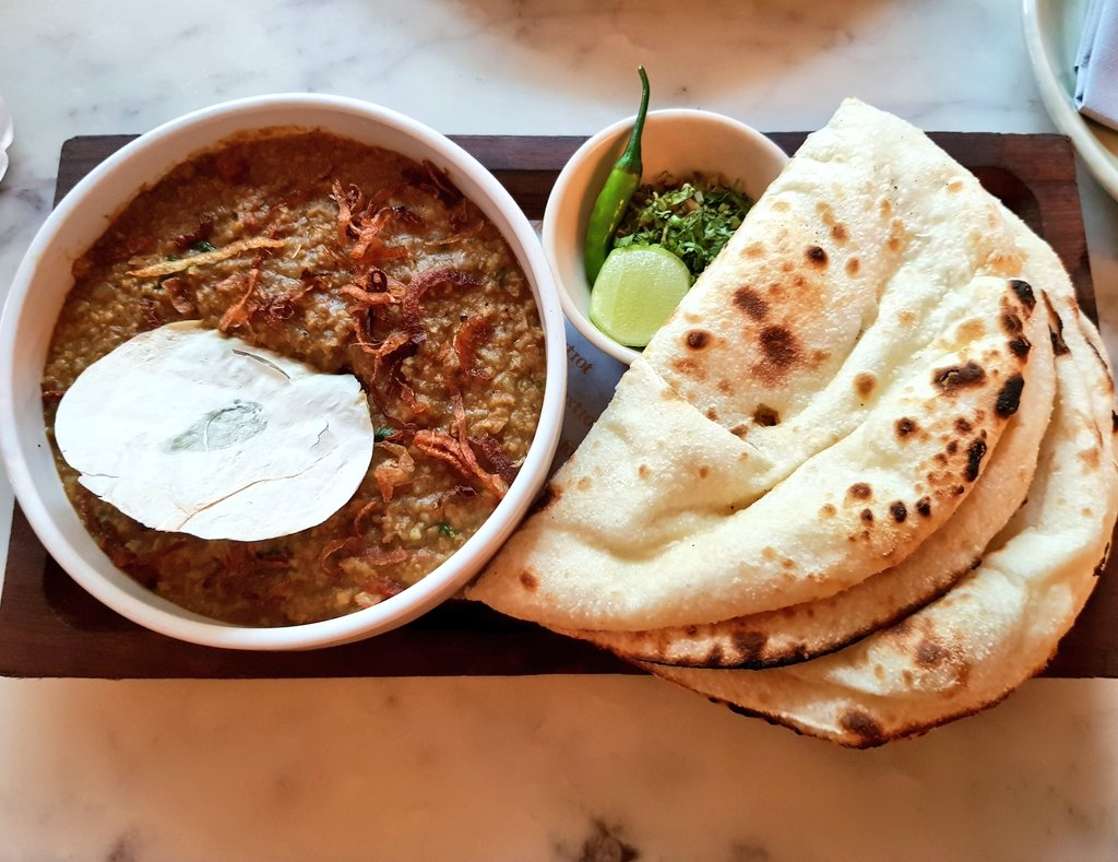Even on my last days, #India always surprises me. A Delicious #food I tasted for the first time, a #veg version of mutton haleem! India has been such a heaven for me as a vegetarian!  #MissYouIndia<br>http://pic.twitter.com/LK6CdqfJTp