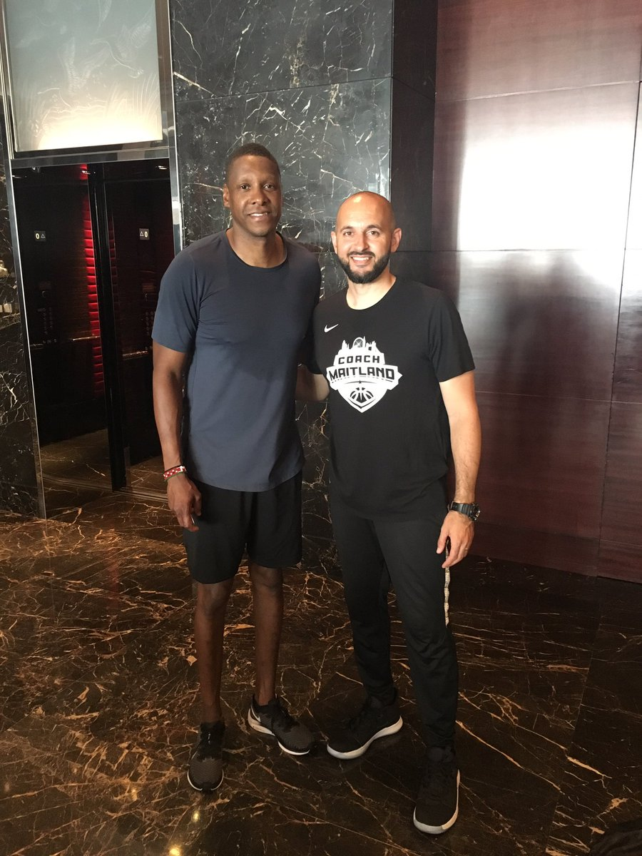 Morning session complete.  You know you have a Championship culture when the leader at the top works his tail off too!  @Raptors   #toronto #Raptors #nba #nbachampions