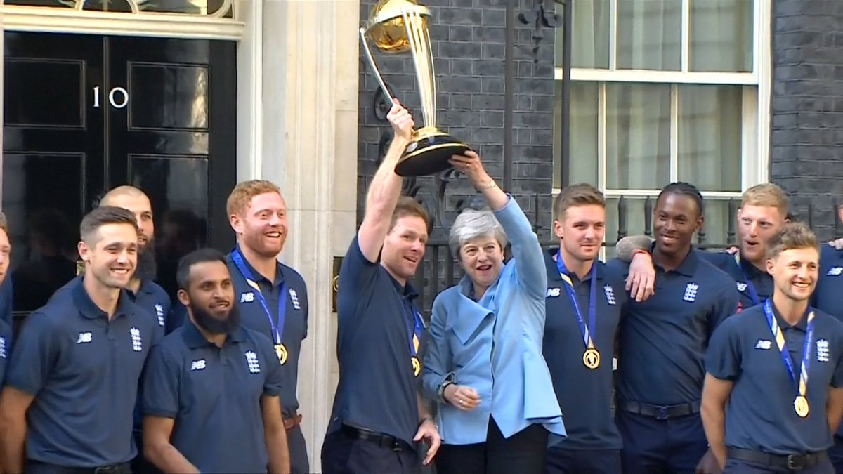 .@englandcricket are a team that represents modern Britain – and that plays like no other side in the world. They have made history. They have helped the nation fall in love with cricket once again.