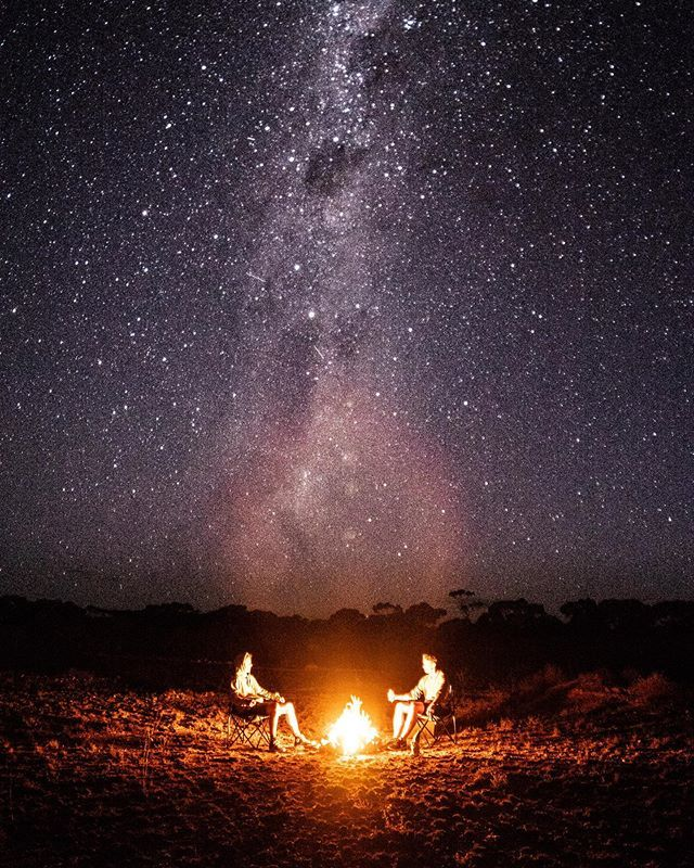 Drinking beers around a camp fire while talking about the girls we like and the adventures we're yet to go on 🏕 absolutely unreal night out on the Nullarbor under the stars. . . . . #justanotherdayinwa #southaustralia #westernaustralia #nullarbor #ta… https://ift.tt/2LptY0C