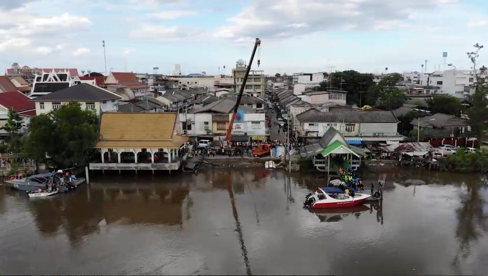 При обрушении павильона в Таиланде пострадали более 20 человек