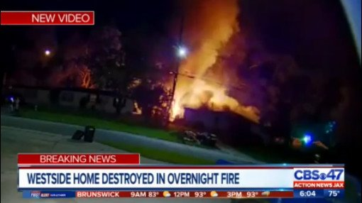 Video: Ring camera captures Jacksonville house engulfed in flames:  http://bit.ly/2XMxAvi