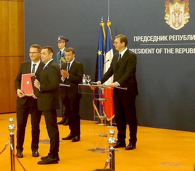 La Serbie signe un contrat…