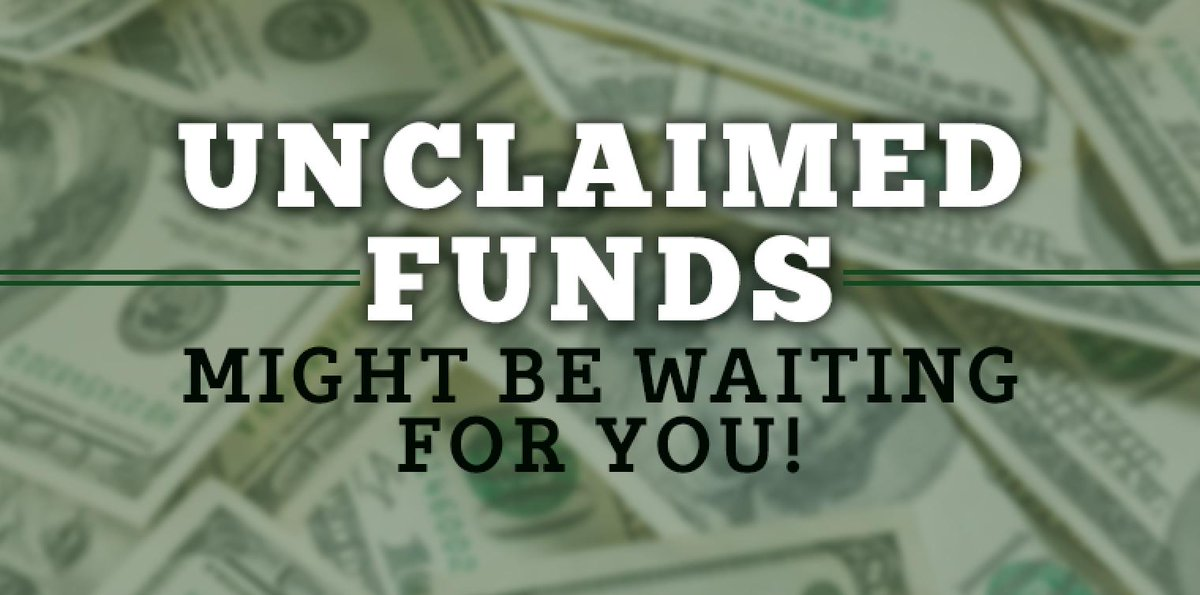 Clay County Clerk's Office may have unclaimed checks for you! http://bit.ly/2ljNOyB