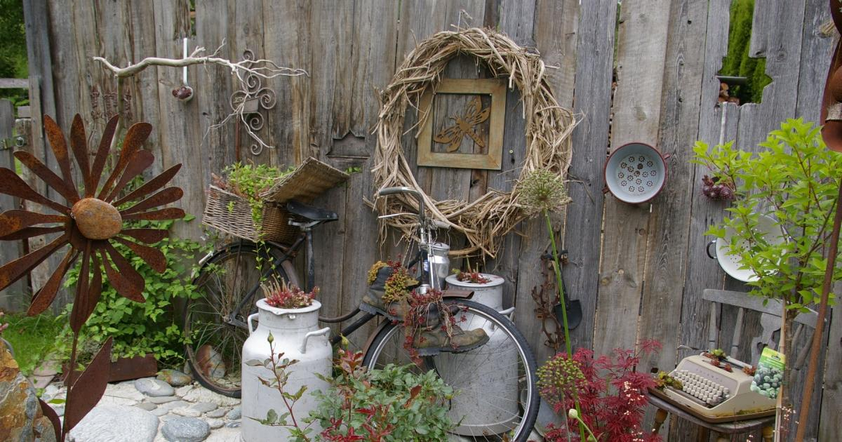Deko: Upcycling im Garten