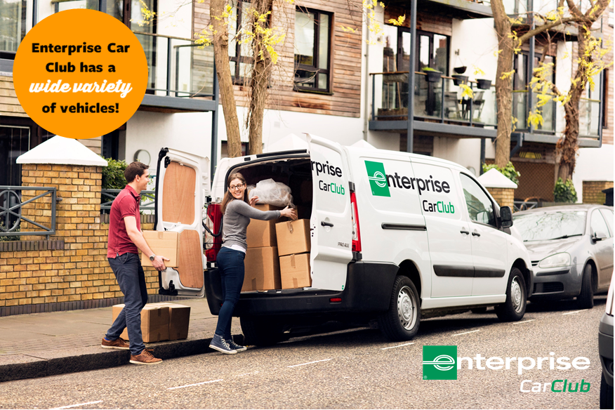 Did you know that you can rent more than just cars from Enterprise Car Club?You can enjoy access to over 1,100 vehicles across the UK, including hybrids, EV's and even vans; perfect for anything on the agenda this summer!Sign up today... https://bit.ly/2I7gNvy