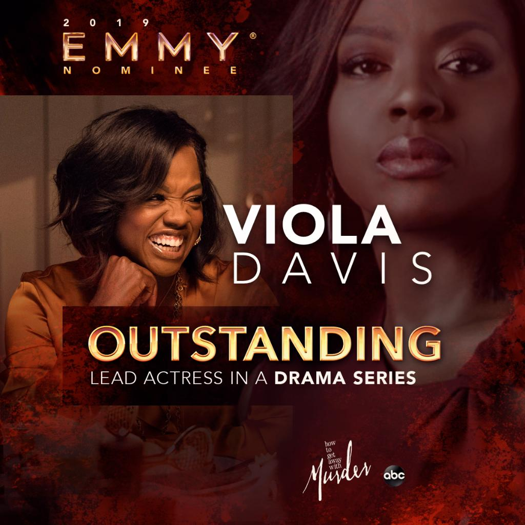 Congratulations to @violadavis for her #Emmy nomination for Outstanding Lead Actress In A Drama Series! #HTGAWM 👏🎉 https://t.co/rICUVBMkdO