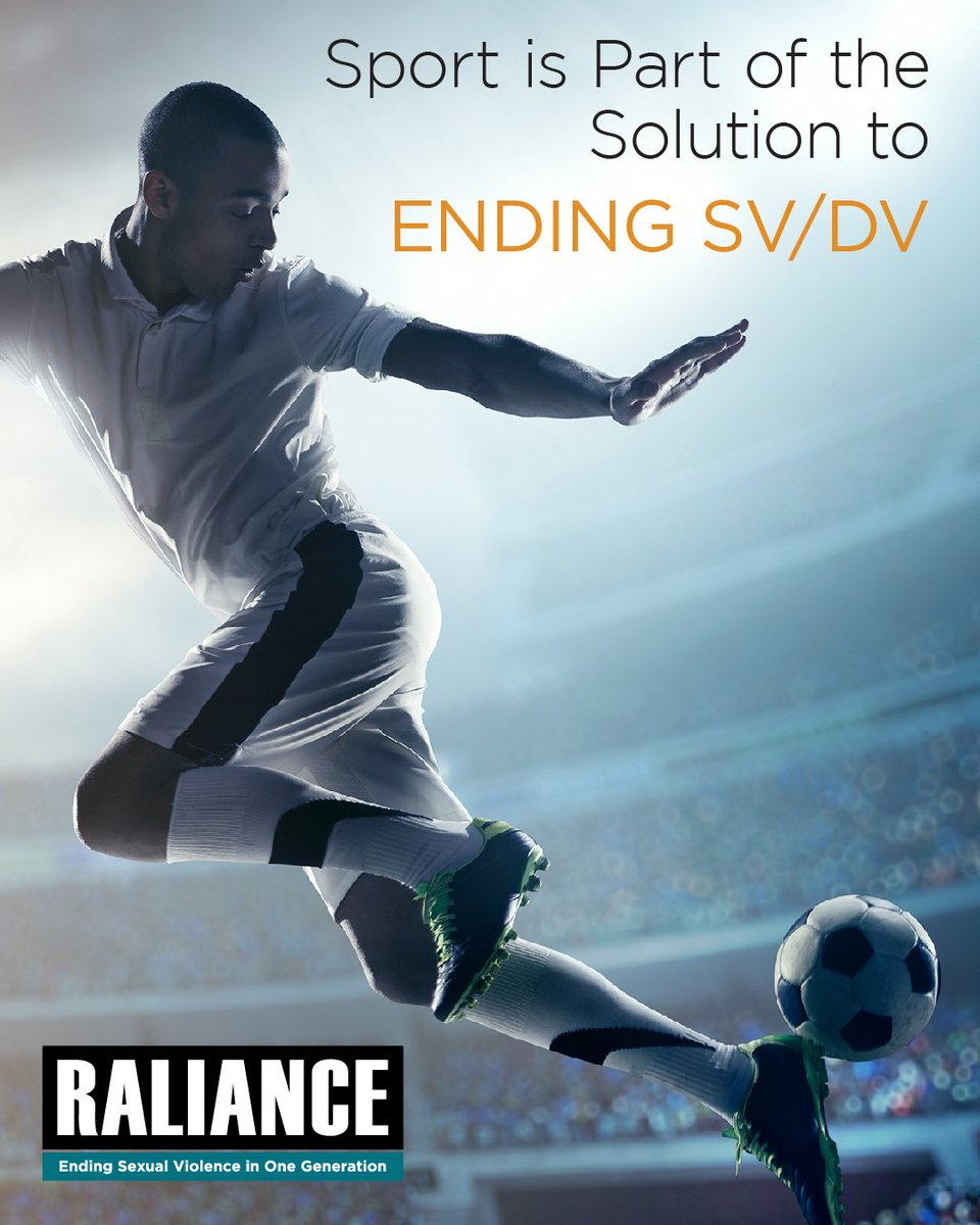 With millions of young participants each year, youth sport is uniquely positioned to teach skills and values that help prevent sexual violence. Learn more here: raliance.org/prevention-dat… #YouthSportsDay @youthsportsNCYS