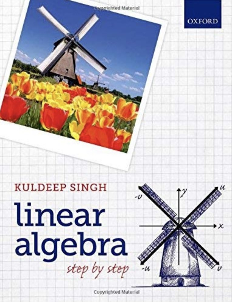 3 Books for learning L A  = #LinearAlgebra = The
