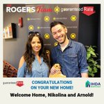 Image for the Tweet beginning: Congratulations to first-time homebuyers Nikolina
