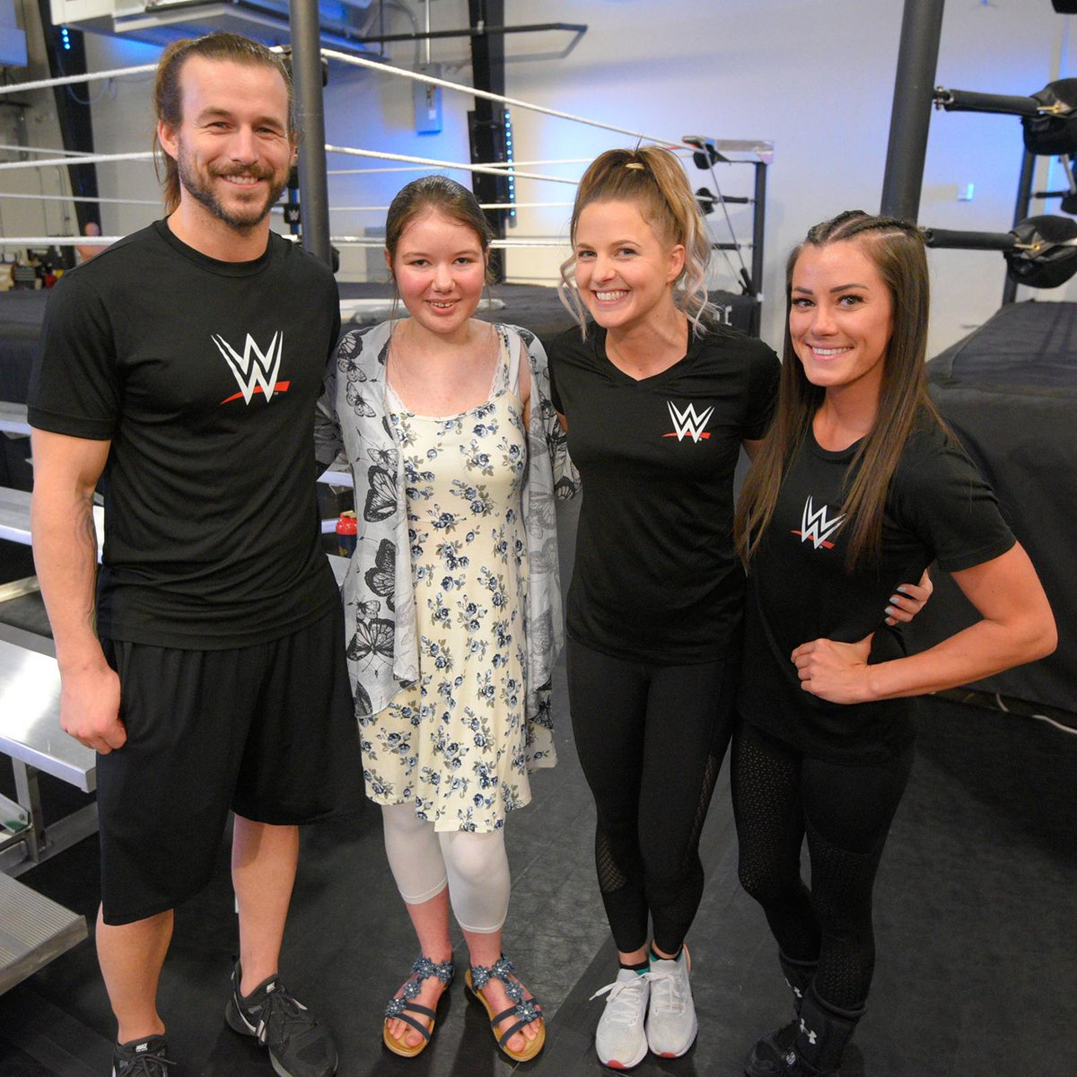 We loved showing Wish Kid Rhianna the ropes of the @WWEPC before her wish was granted to meet @StephMcMahon. You can see it on @SportsCenter today! Visit bit.ly/2leVD8o for more. #MyWish