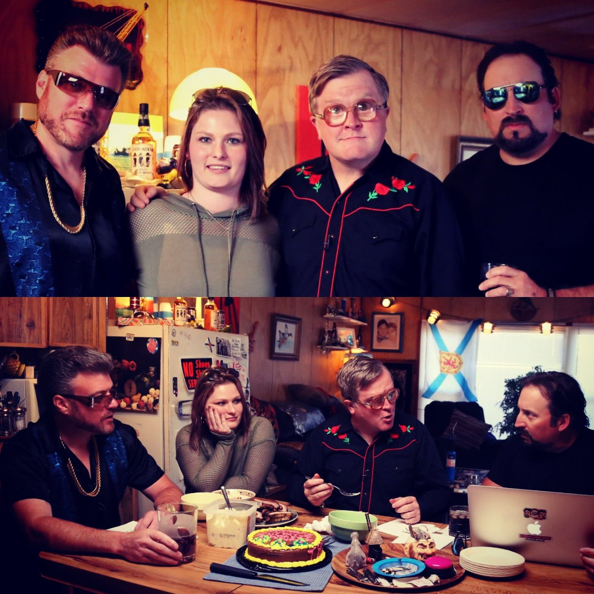 Jeanna Harrison Aka Trinity On Twitter Had Some Fun With The Boys Last Week Trailerparkboys Parkafterdark Trailerparkboys Swearnet Jeanna harrison the actor is aproximately 25 years old as she was 15 in 2001. jeanna harrison aka trinity on twitter