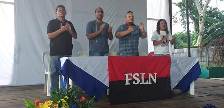 Traidores Nuca!!!Leales Siempres... Presentación Guerra contra el pueblo con @MarcioVargasA y el mechudo. #Bluefields #NoPudieronNiPodran #PLOMO19 #RedFSLN #SMANic21 #JulioDePazYPatria @ElCuervoNica @KatiaMI88 @taniasandinista @TaniaEl19 @mayita_sil2 @Barricada79 @pablo_nic1