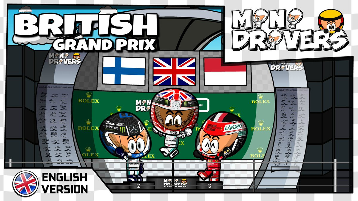 MiniDrivers - #F1 - #BritishGP - ONLINE  #Hamilton #Bottas #Leclerc  https://losminidrivers.com/2019/07/16/minidrivers-2019-british-gp/…