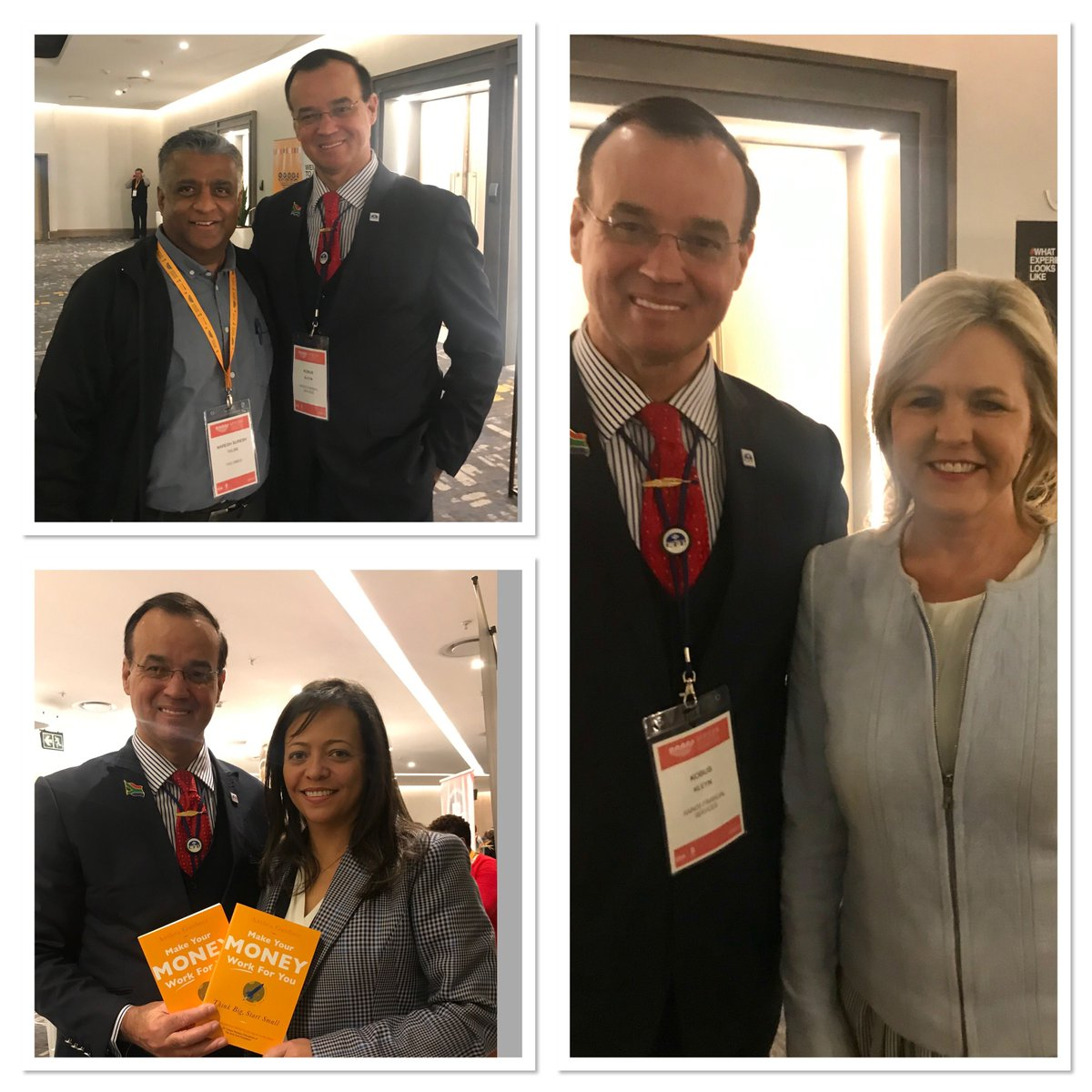#aie2019 offer amazing networking opportunities. Great to meet up with Naresh Tulsie  , Anthea Gardner and Caroline da Silva!  #saia #fia #iisa AIE Communications