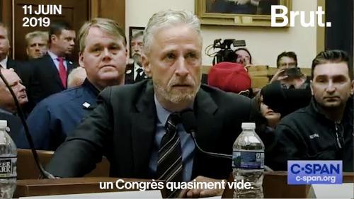 VIDEO. Jon Stewart dénonce lindifférence des élus à légard des secouristes du 11-Septembre #Jon Meacham saveurs-et-sante.com/sante/2791076-…