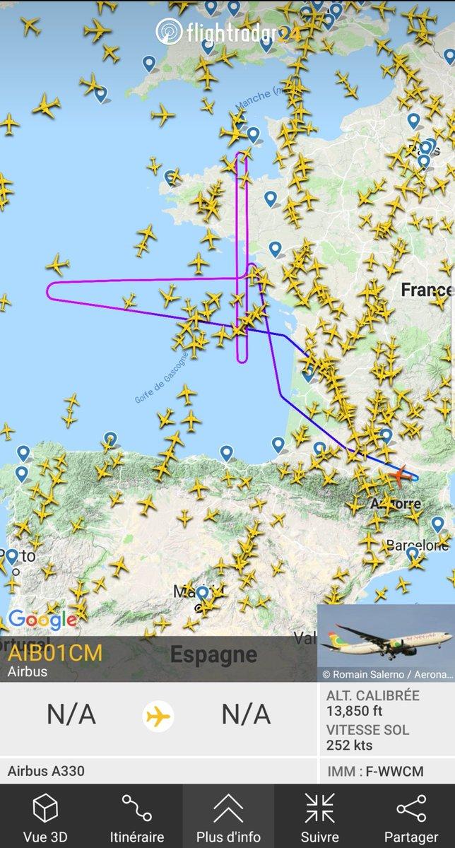 Premier vol d'essai pour le nouvel #Airbus #A330neo #A330900 d'#Aircalin F-ONEO (F-WWCM), avec 2 mois de retard... notre patiente se voit enfin récompensée!