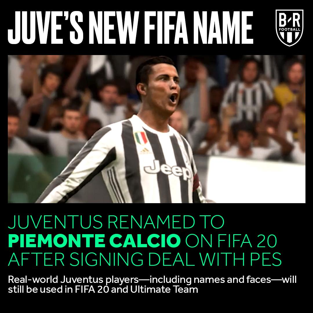 B R Football On Twitter Official Juventus Will Be Known As Piemonte Calcio In Fifa 20