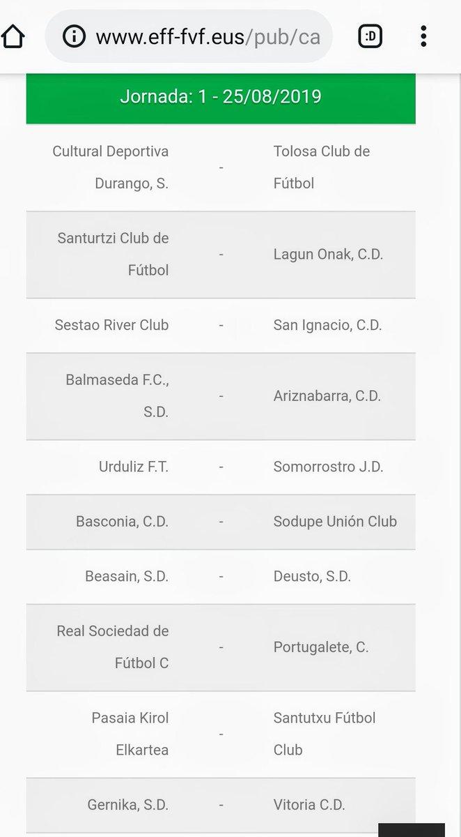 Calendario Deusto.Ya Tenemos Calendario Liga Tercera Grupo Iv Temporada 2019 2020