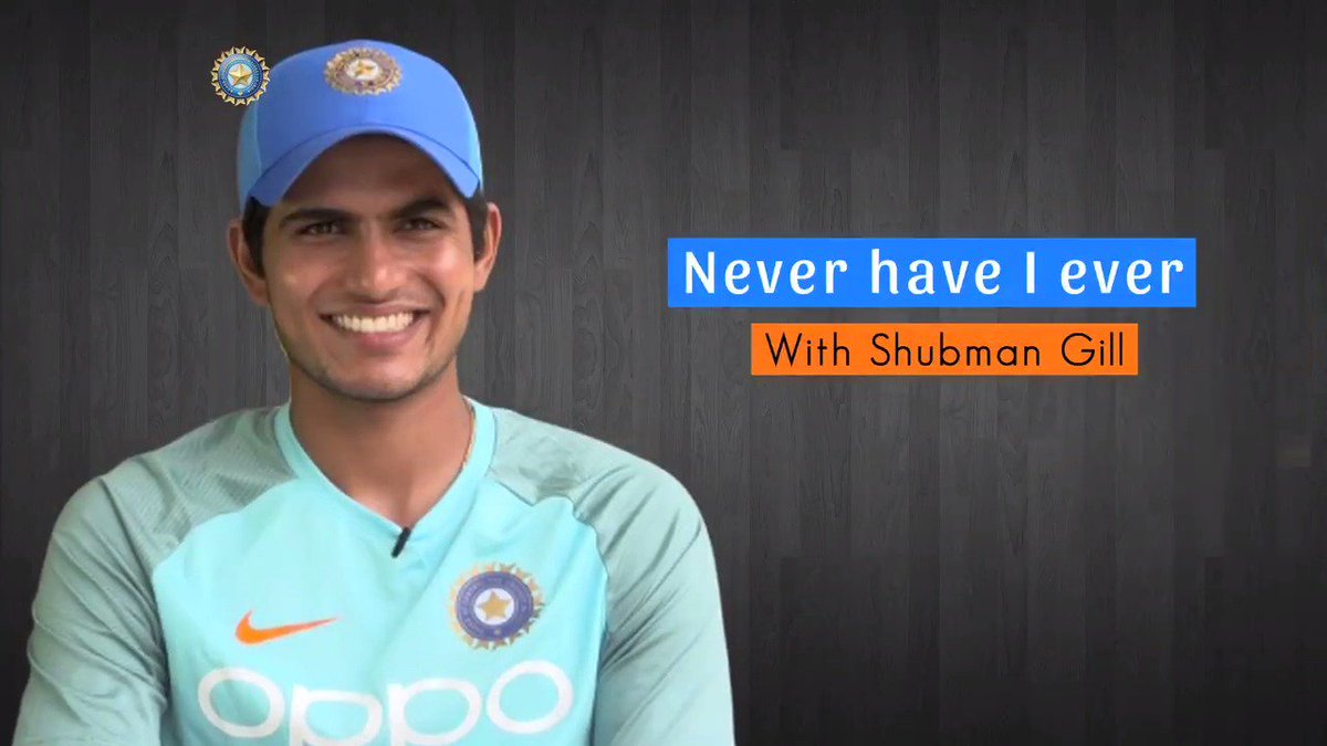With the India A squad right now in the West Indies, we caught up with @RealShubmanGill for a fun game of Never have I ever 😄😎😎 #TeamIndia