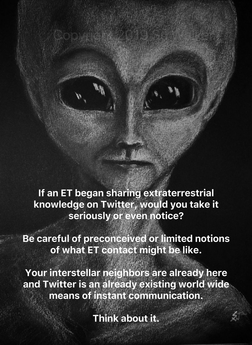 If an ET began sharing knowledge on Twitter would you take it seriously? Be careful of preconceived notions of what contact might be like.   Your interstellar neighbors are already here and Twitter is an already existing world wide means of instant communication.  Think about it.