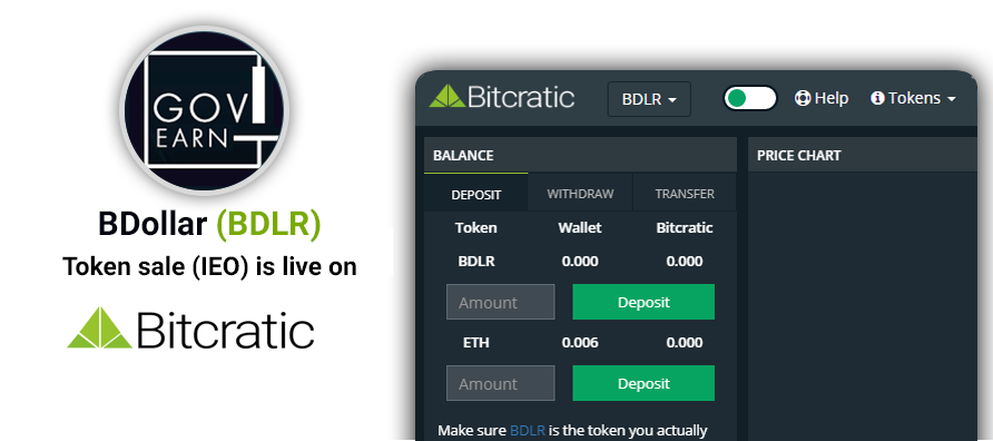 #GOVEARN #ICO is now live on @bitcratic Decentralized Exchange. Check #bDLR #Token Sale now on https://t.co/qUmk329Twi & https://t.co/3vQ7Y3S6LB #blockchaintechnology #BlockchainNews #fintech #CryptoNews #cryptocurrency #Sustainability #SustainableDevelopment #Ethereum