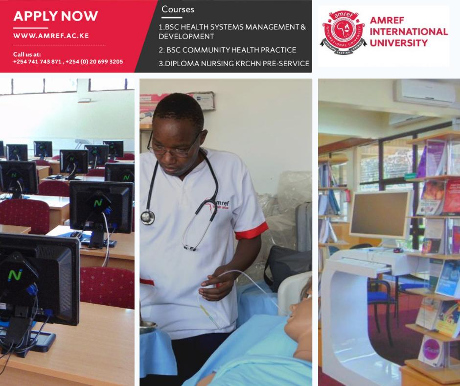 Amref International University (AMIU) (@AmrefUniversity