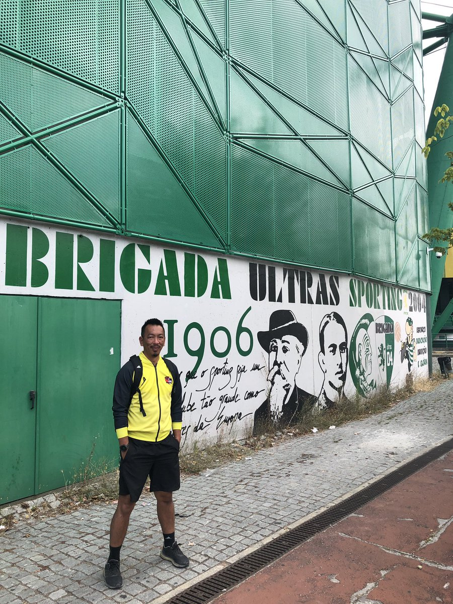 Football culture across the 5 cities ! Jose Alvalade, Camp Nou, Olimpico, Constant Vanden Stock and Johan Cruijff Arena .. left me wondering how far our football is left behind