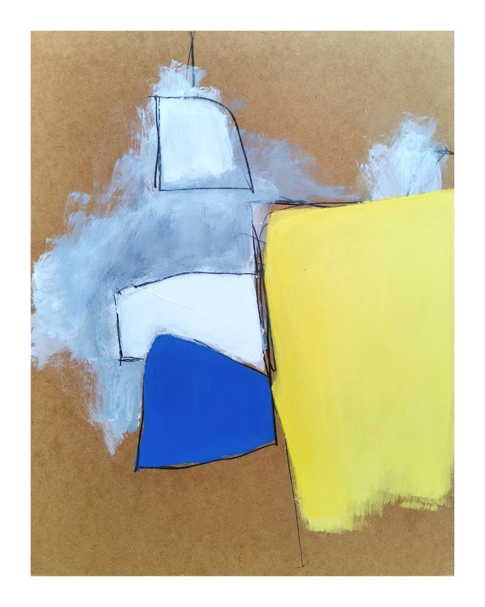 """""""A PLACE TO BE"""". ACRYLIC AND GRAPHITE ON BOARD. #acrylicpainting #artwork  #contemporaryart #modernart #summer #london #berlin #muse #three #gallery #homes #hipster #hipsterstyle #beat #artcurator #haydndickenson #colourfield #minimalism #cool #music #beartegallery"""